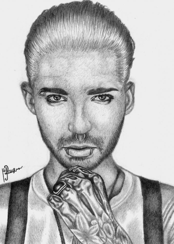 Bill Kaulitz by ArtByMerleen